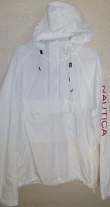 Nautica windbreaker hooded jacket
